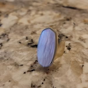 Kendra Scott Mother of Pearl Ring Size 5